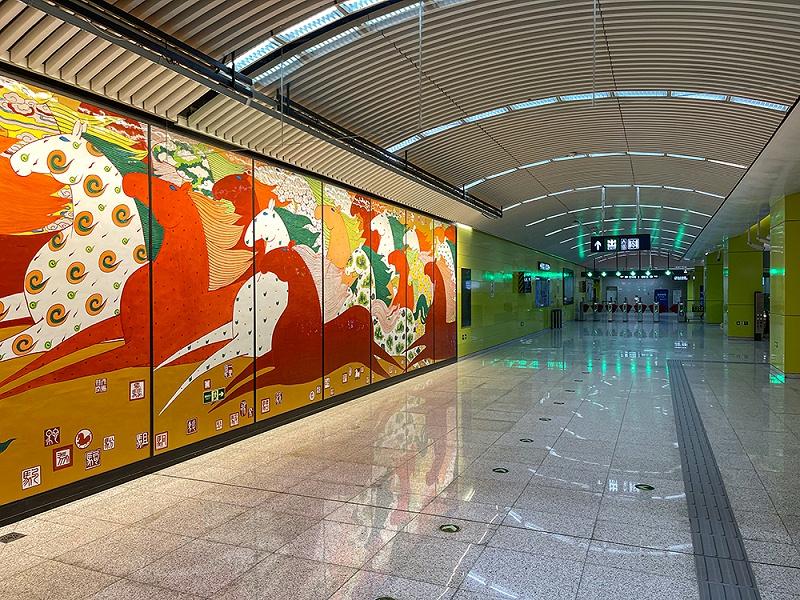 北京地铁8号线,海户屯站
