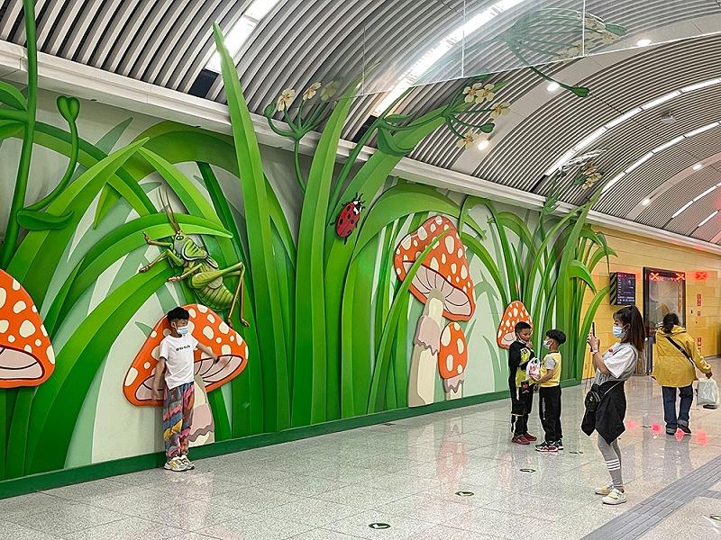 北京地铁8号线,木樨园站