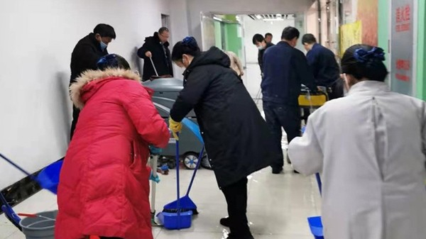 北京挑战20年来最低气温纪录,美汐清洁用汗水温暖客户