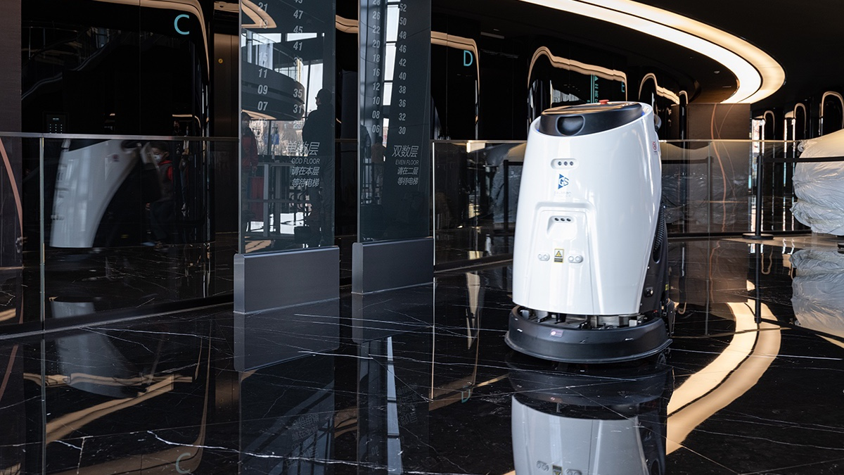 保洁员成最缺工职业,机器代替人工势在必行