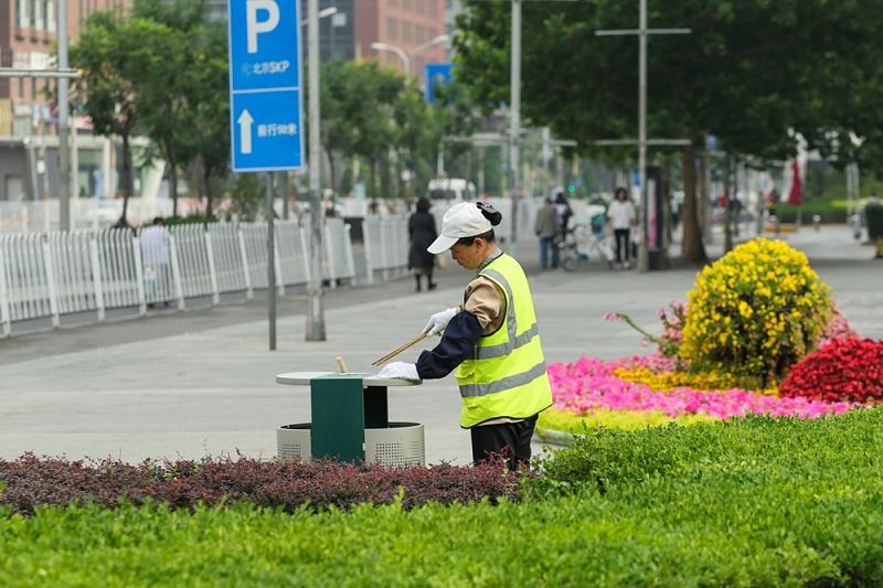 美汐清洁,美在岗位摄影展,北京保洁公司