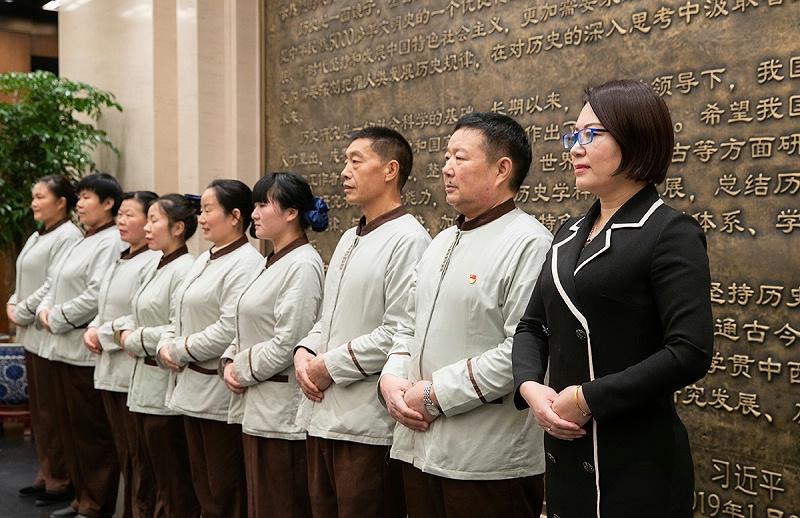 北京保洁公司,美汐清洁保洁员